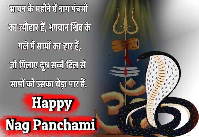 Happy Nag Panchami 2020 status