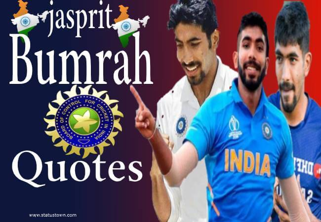 jasprit bumrah quotes in hindi