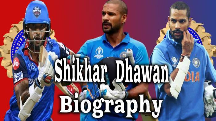 Shikhar Dhawan Biography in Hindi