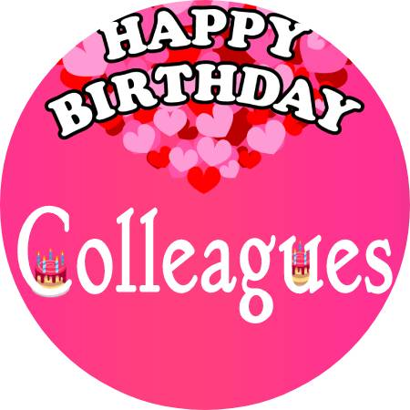 Birthday Wishes for Colleagues