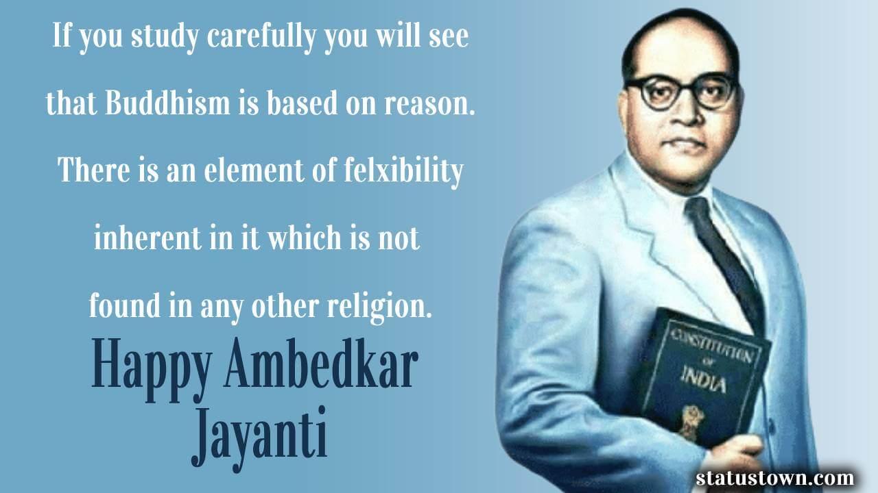 ambedkar jayanti wishes in english