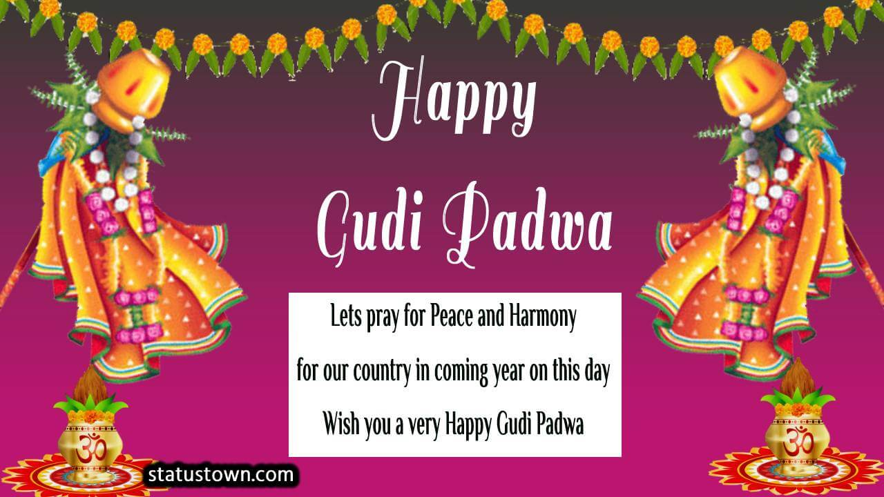 Gudi Padwa Status 2021