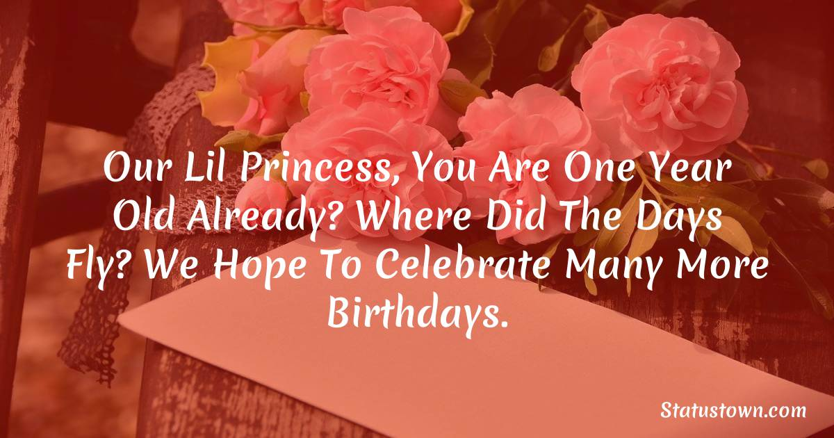 latest 1st Birthday Wishes