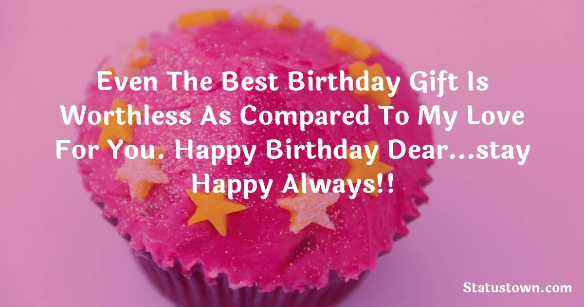 Funny Birthday Shayari