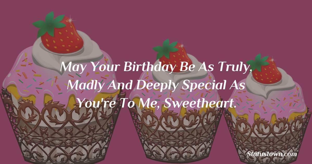 Lovely Happy Birthday Wishes