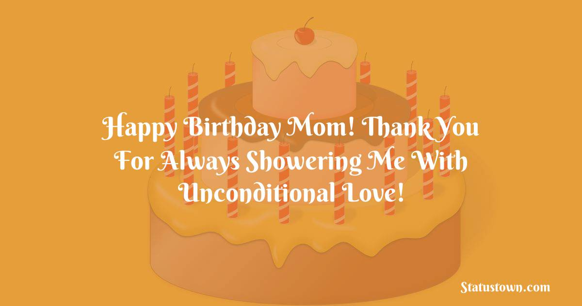 Amazing Birthday Wishes for Mother