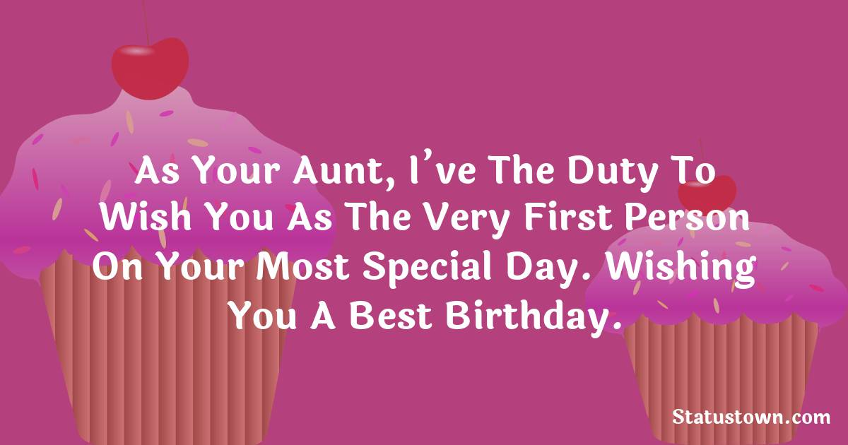 Touching Birthday Wishes for Niece