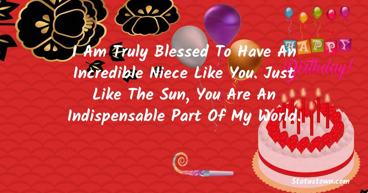 Unique Birthday Wishes for Niece