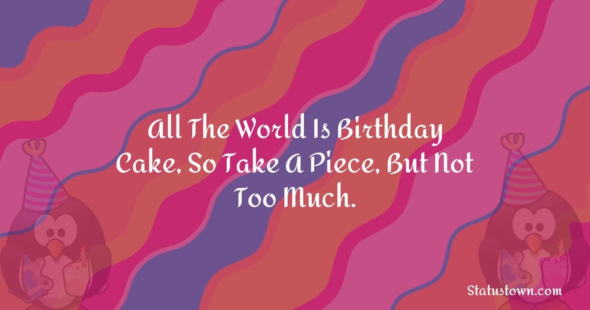 Birthday Status for Friends