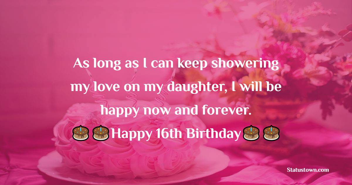 Unique 16th Birthday Wishes