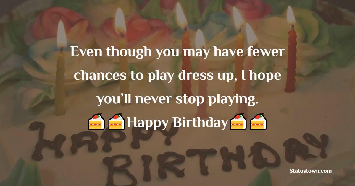 Amazing 18th Birthday Wishes
