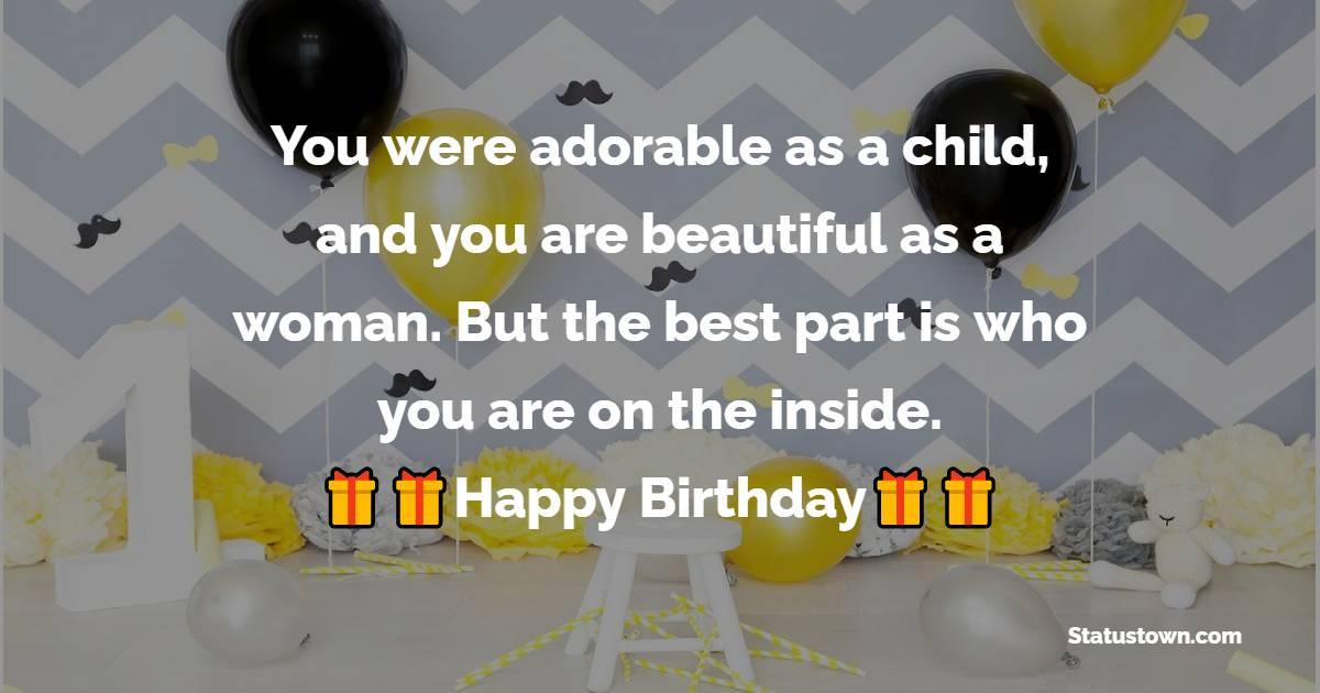 Unique 18th Birthday Wishes