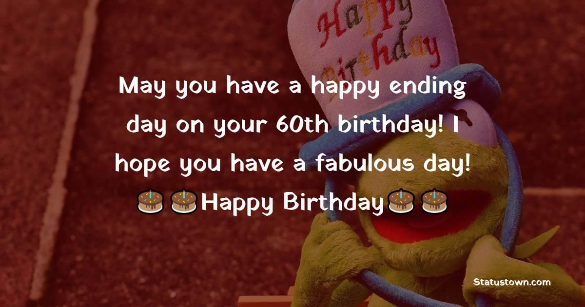 Short 60th Birthday Wishes