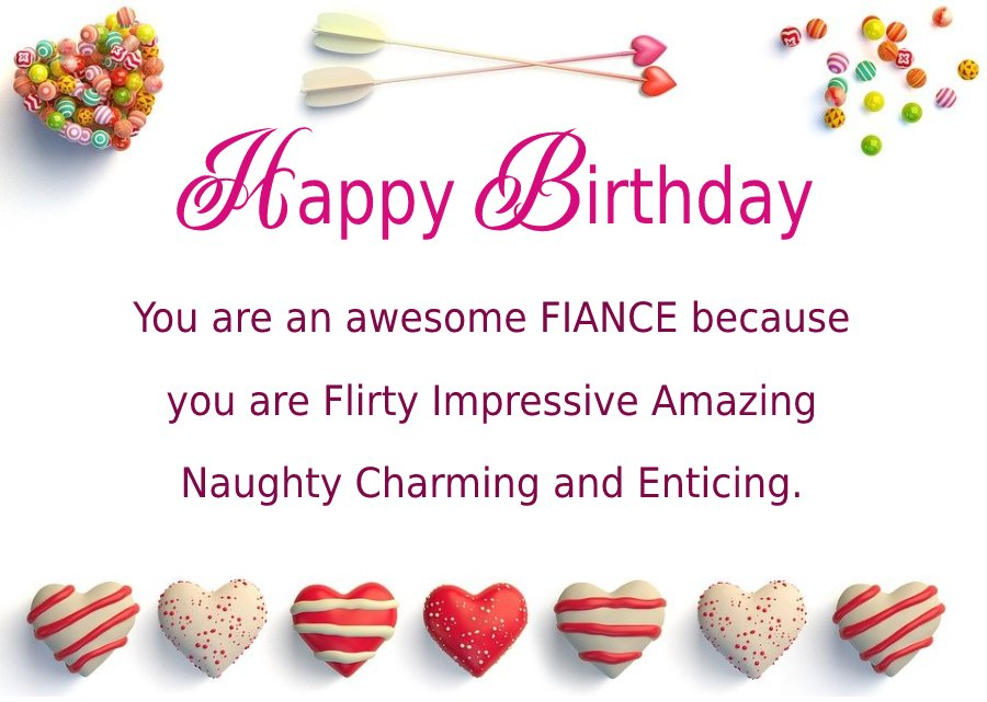 Deep Birthday Wishes For Fiance