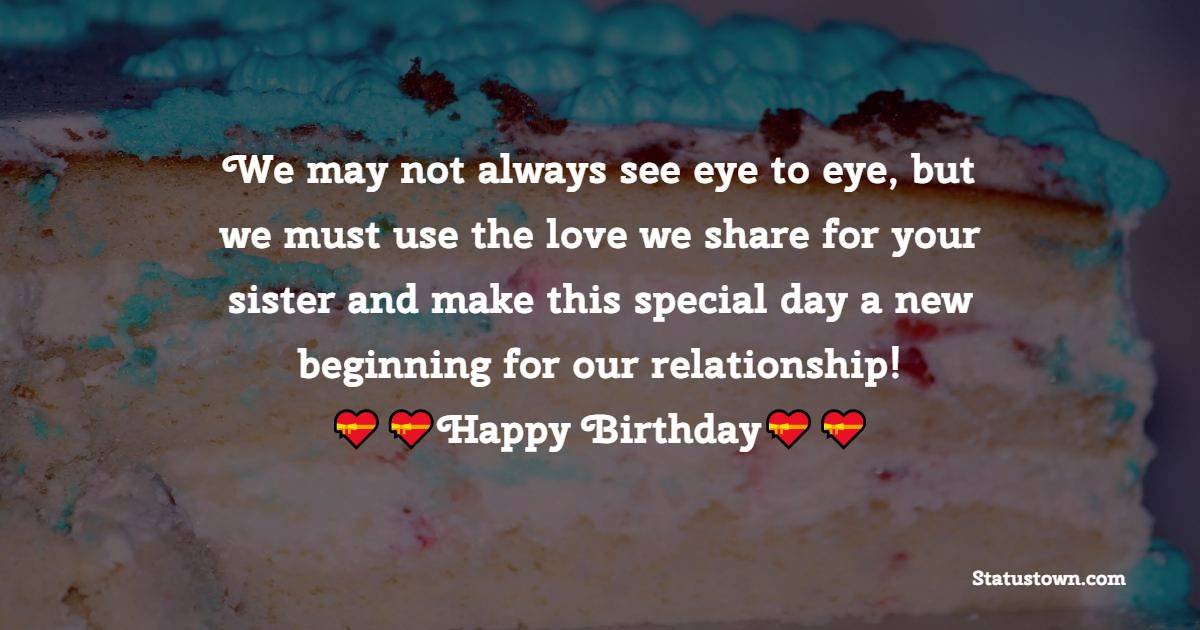 Birthday WhatsApp Status  For Sister In Law