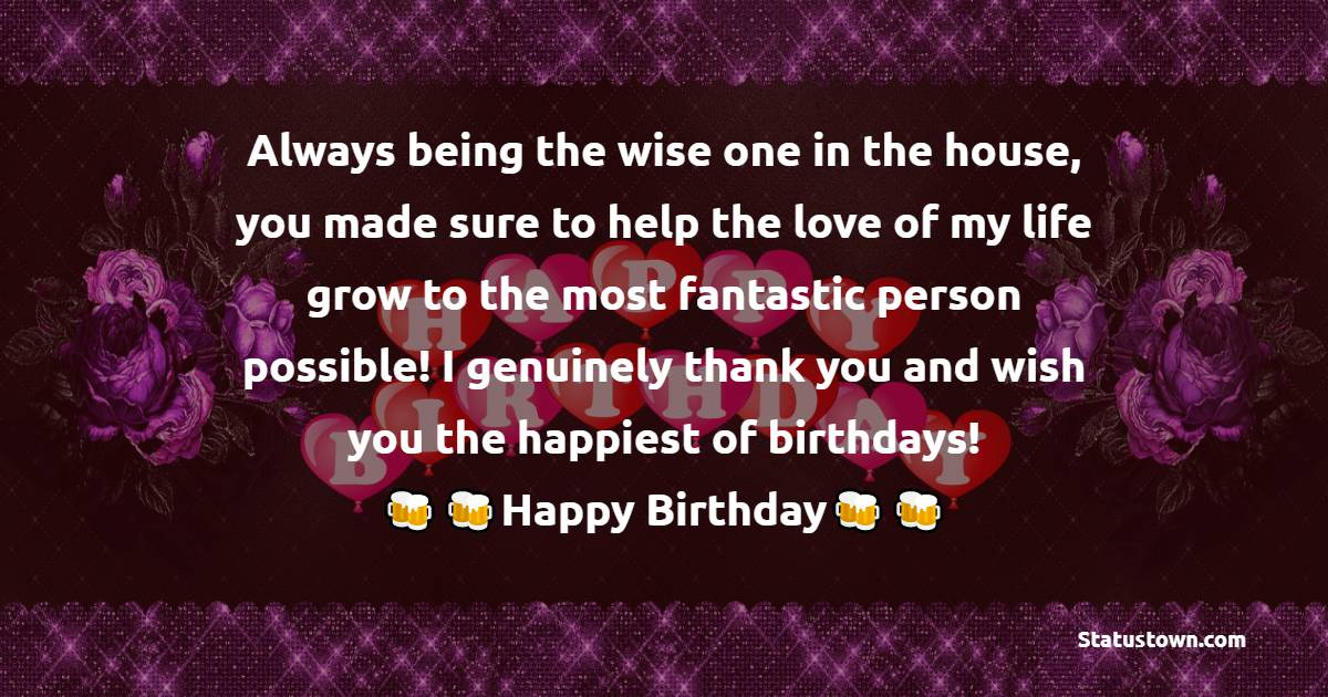Emotional Birthday Wishes For Sister In Law
