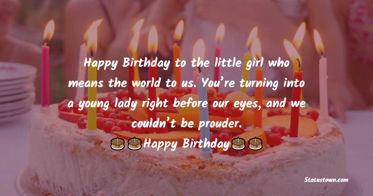 Deep Birthday Wishes for Baby Girl