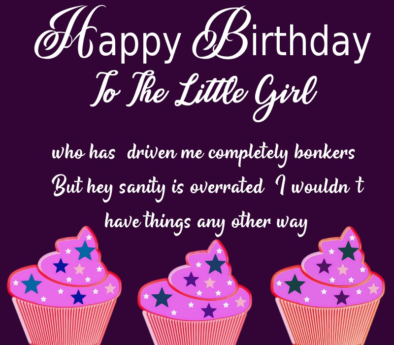 Unique Birthday Wishes for Baby Girl
