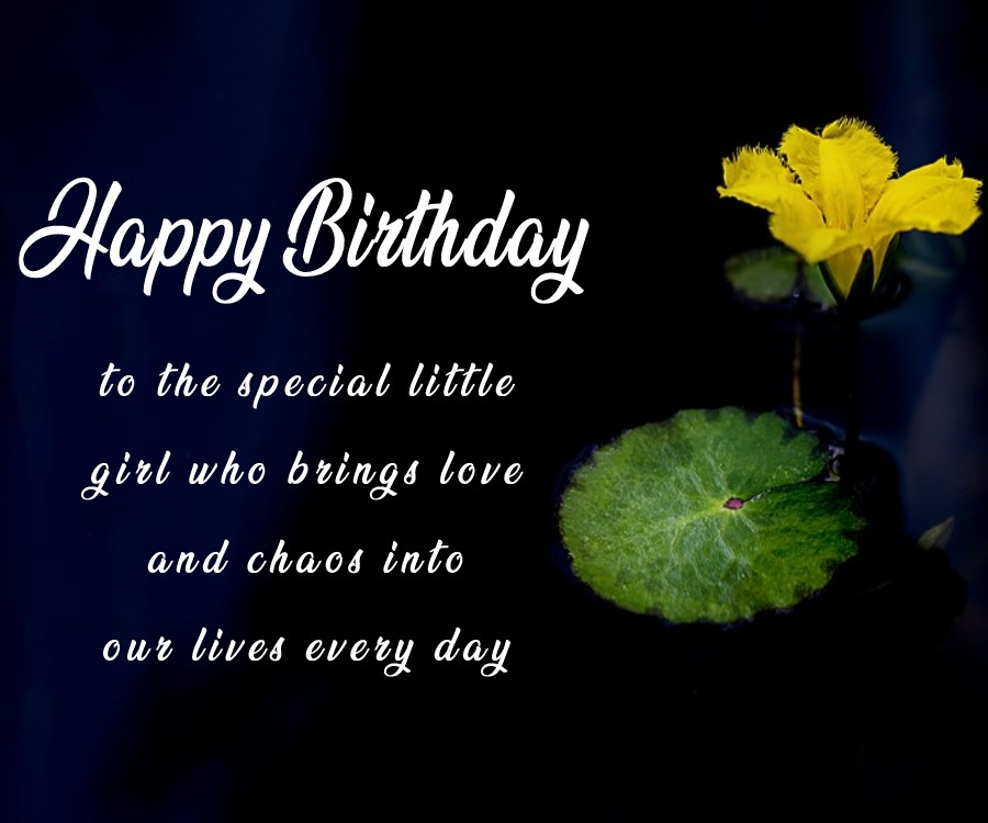 latest Birthday Wishes for Baby Girl