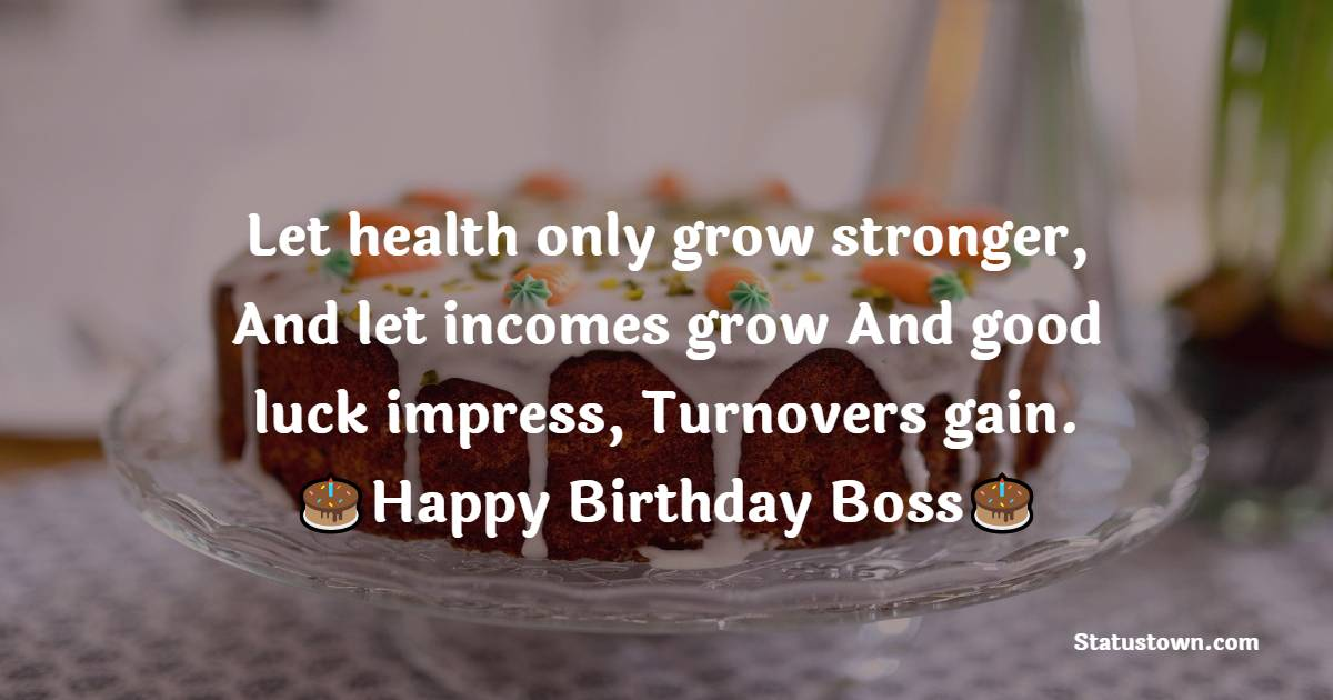 meaningful Birthday Wishes for Boss