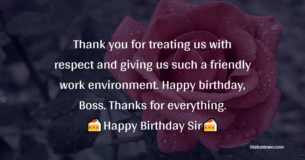 Top Birthday Wishes for Boss