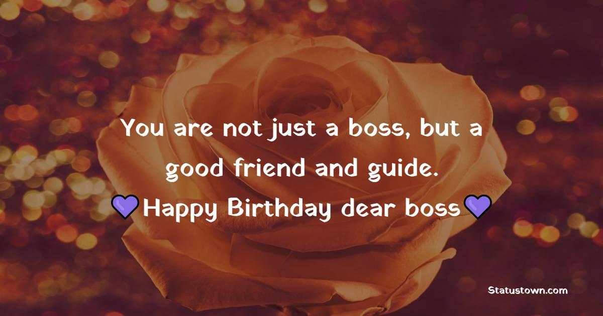 Birthday Status for Boss