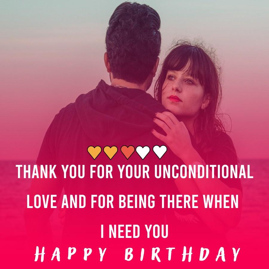 latest Birthday Wishes for Boyfriend
