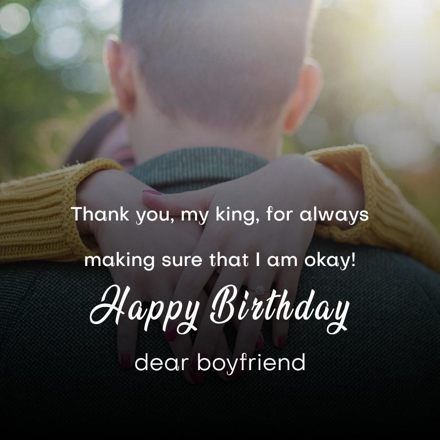 Simple Birthday Wishes for Boyfriend