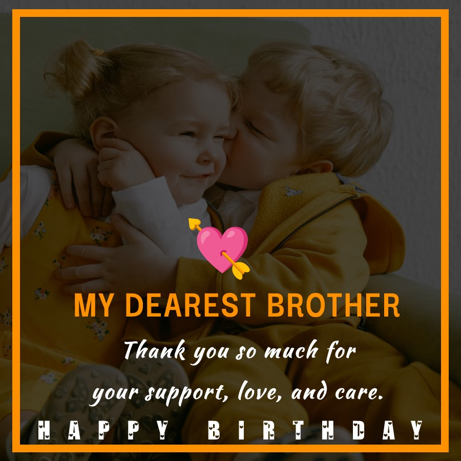 latest Birthday Wishes for Brother