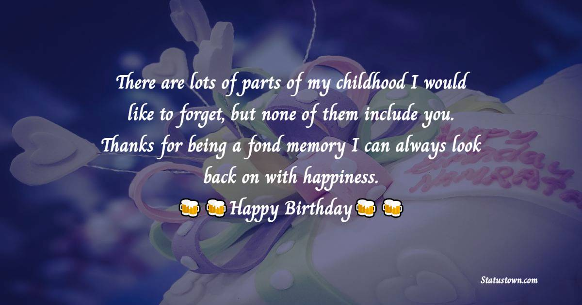 Sweet Birthday Wishes for Cousin
