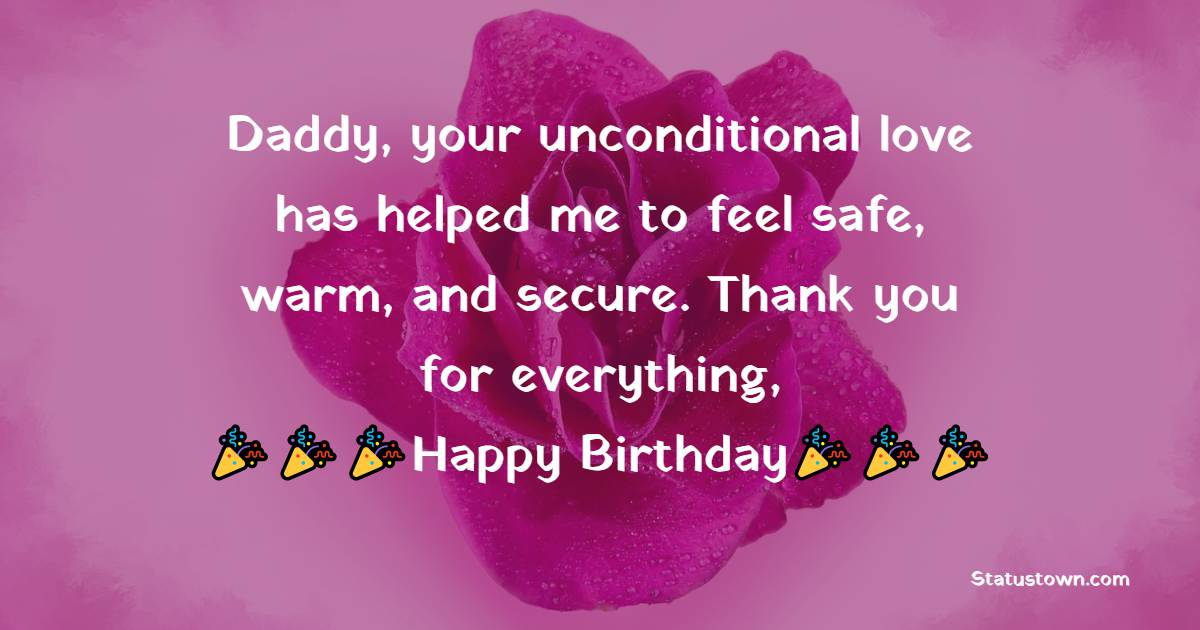 Amazing Birthday Wishes for Dad