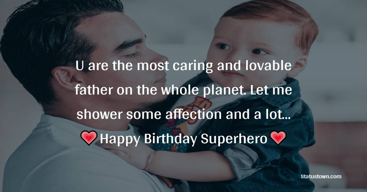 Birthday Wishes for Dad