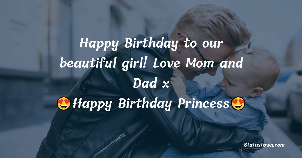 Beautiful Birthday Wishes for Daughter