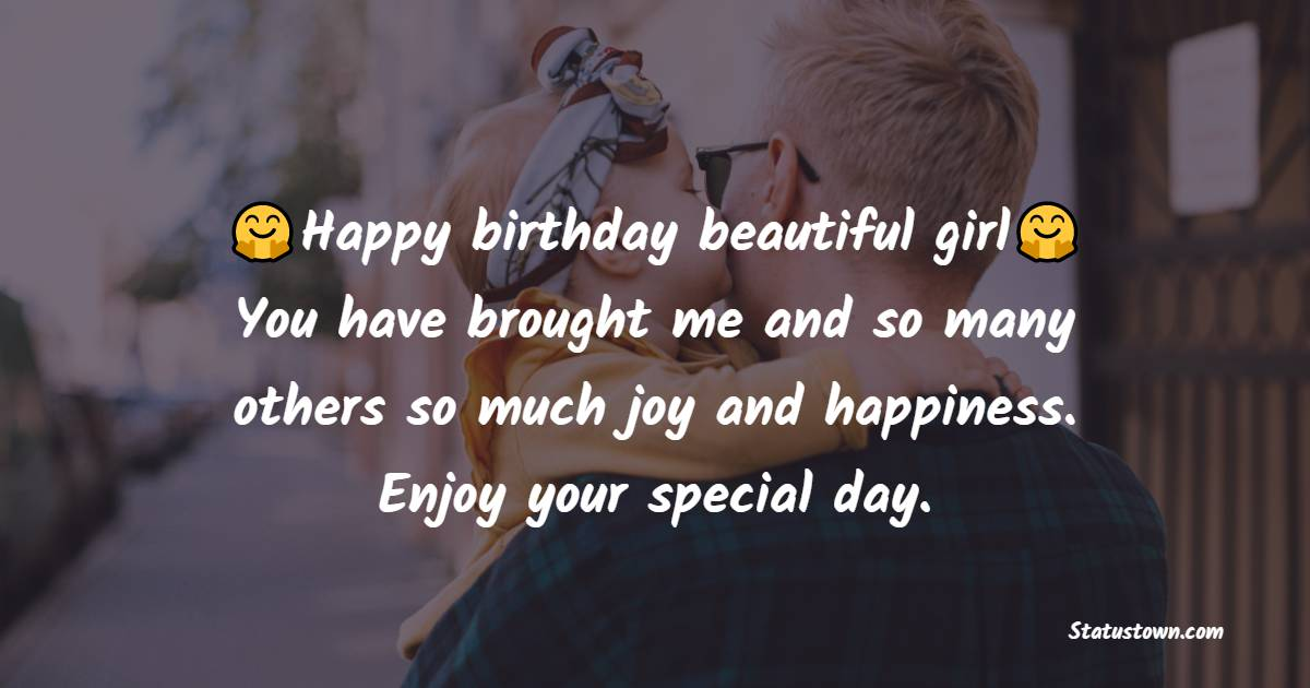 Amazing Birthday Wishes for Daughter