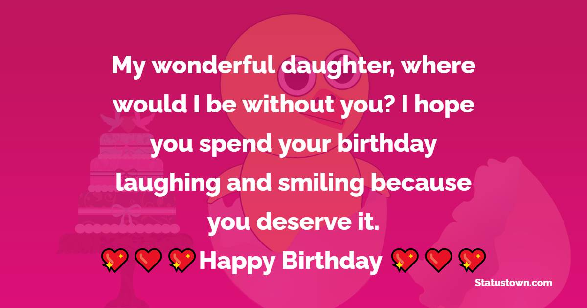 latest Birthday Wishes for Daughter