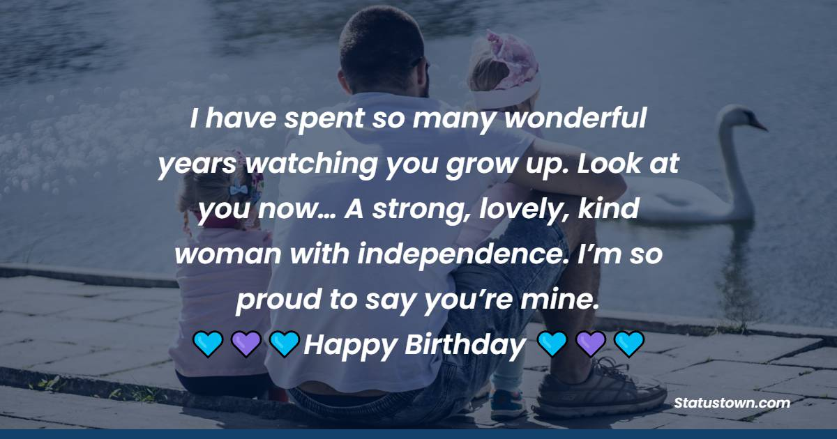 Birthday Text for Daughter