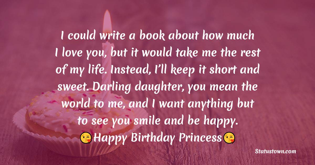 Heart Touching Birthday Wishes for Daughter