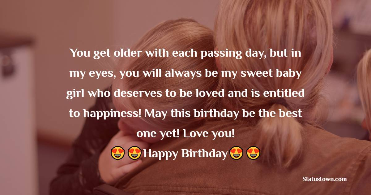 Deep Birthday Wishes for Daughter