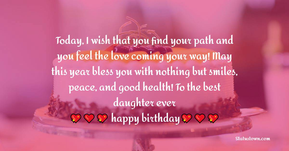 Unique Birthday Wishes for Daughter