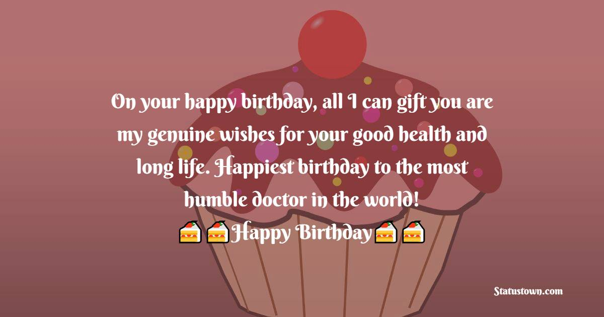 Unique Birthday Wishes for Doctor