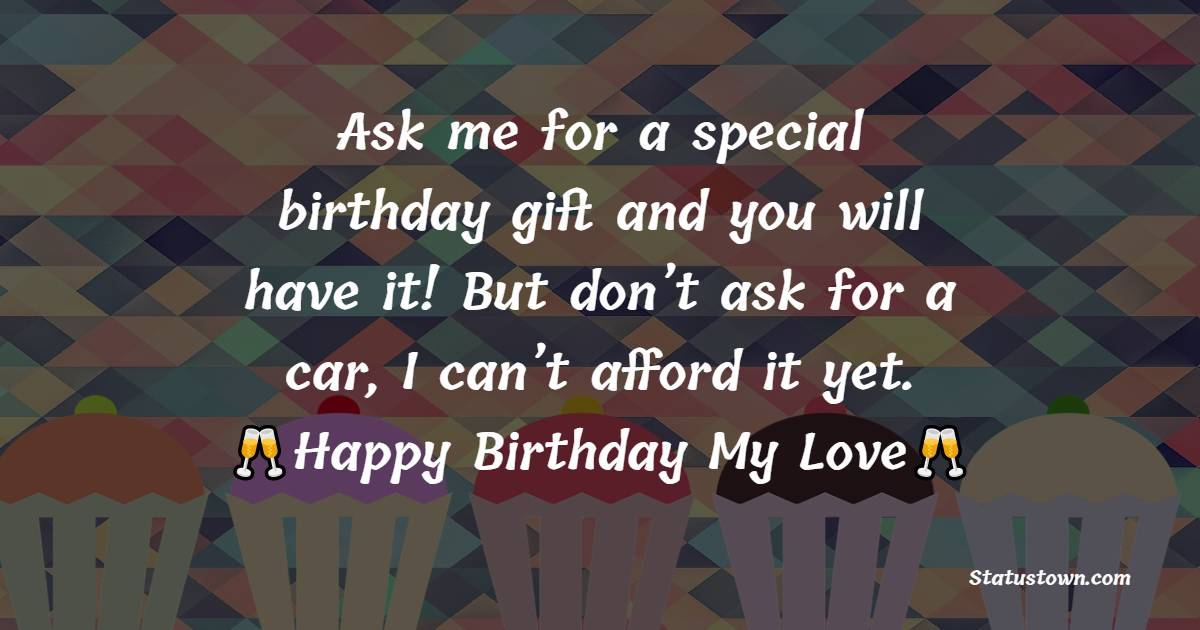 meaningful Birthday Wishes for Girlfriend