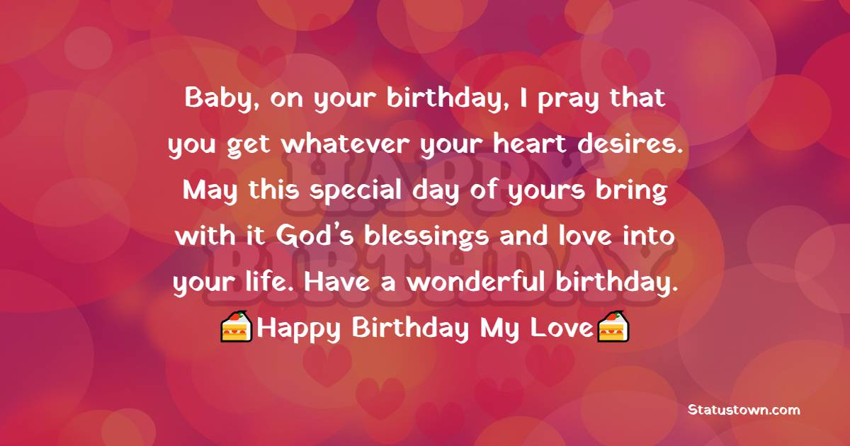 Deep Birthday Wishes for Girlfriend