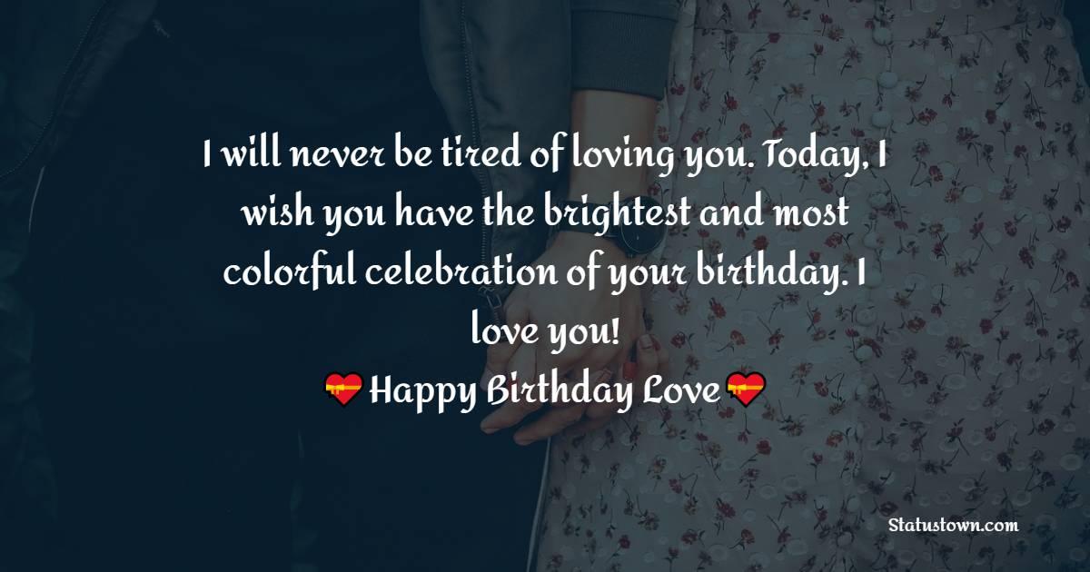 Amazing Birthday Wishes for Girlfriend