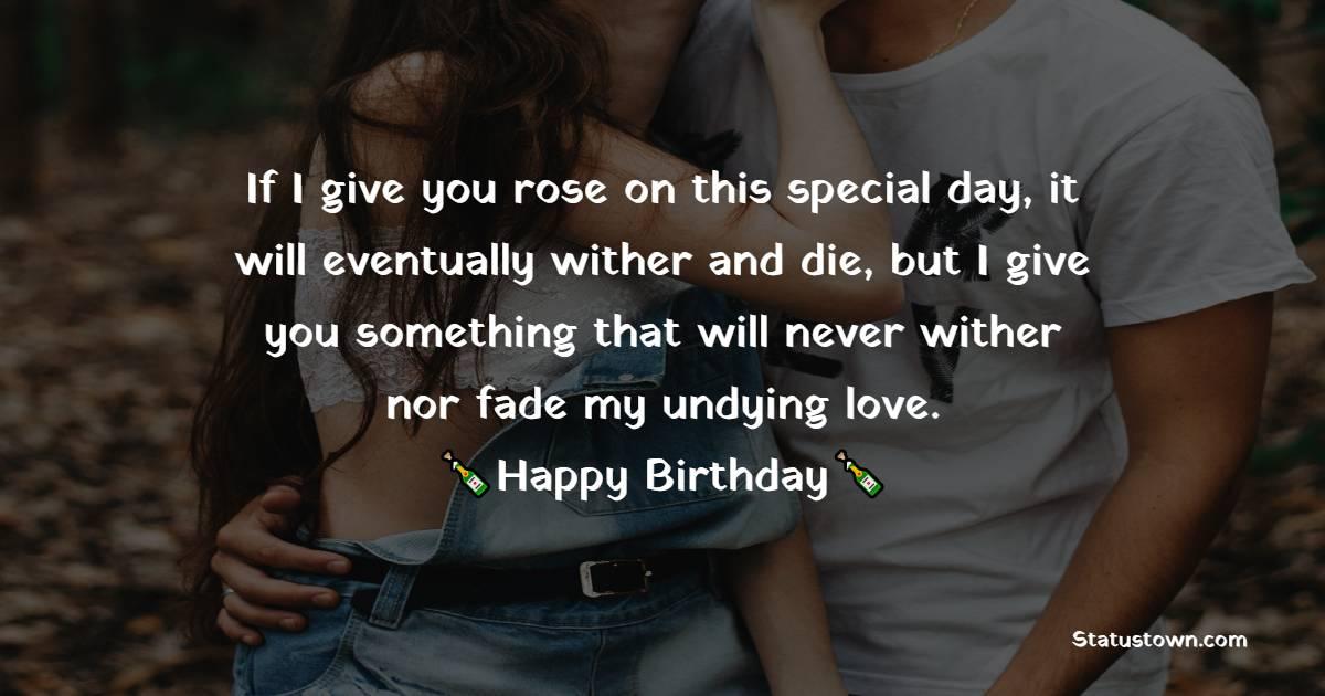 Birthday Wishes for Girlfriend