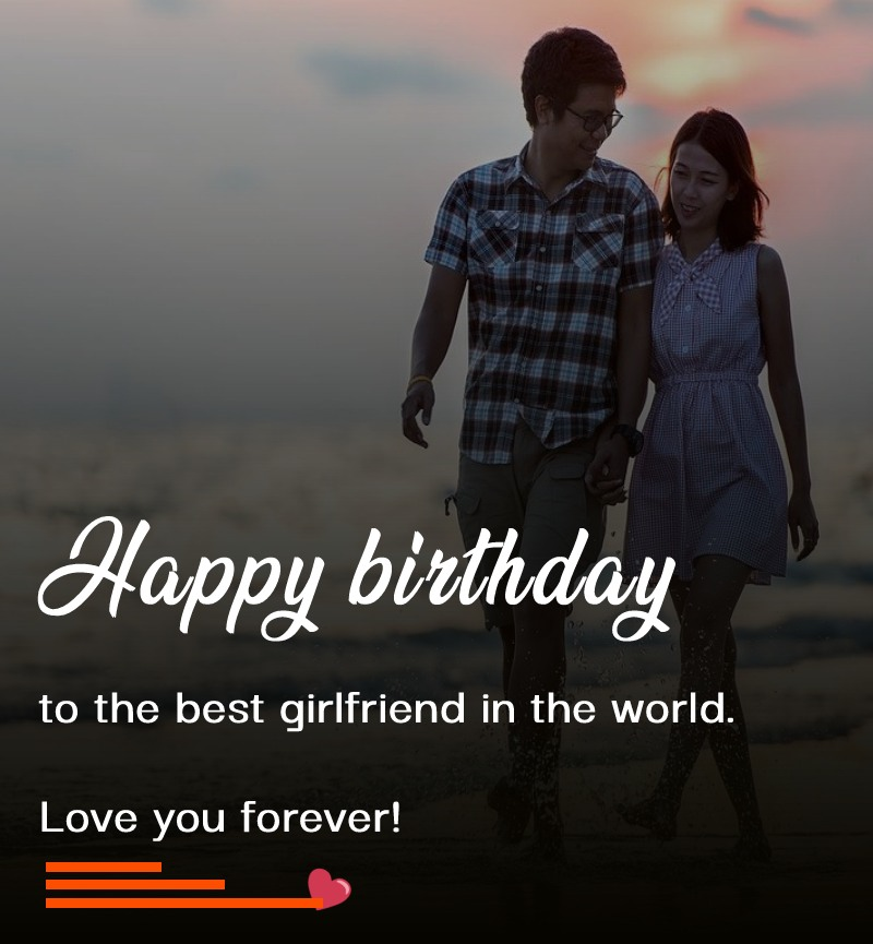 Short Birthday Wishes for Girlfriend