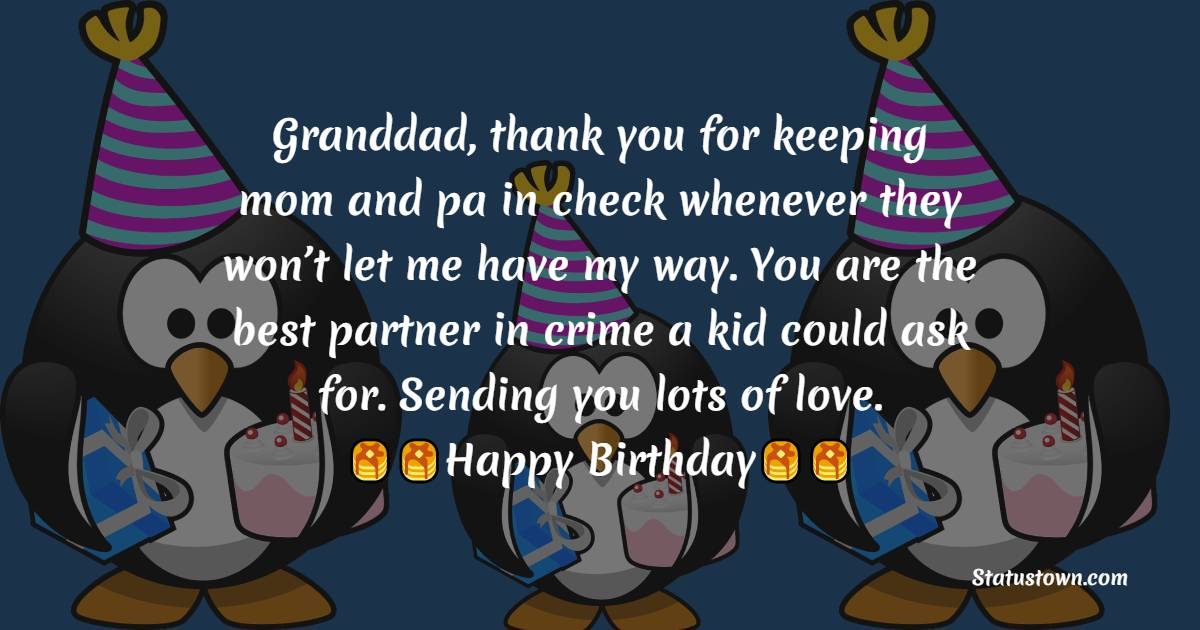 Birthday Wishes for Grandfather