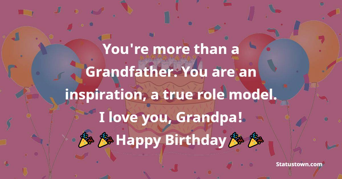 Touching Birthday Wishes for Grandfather