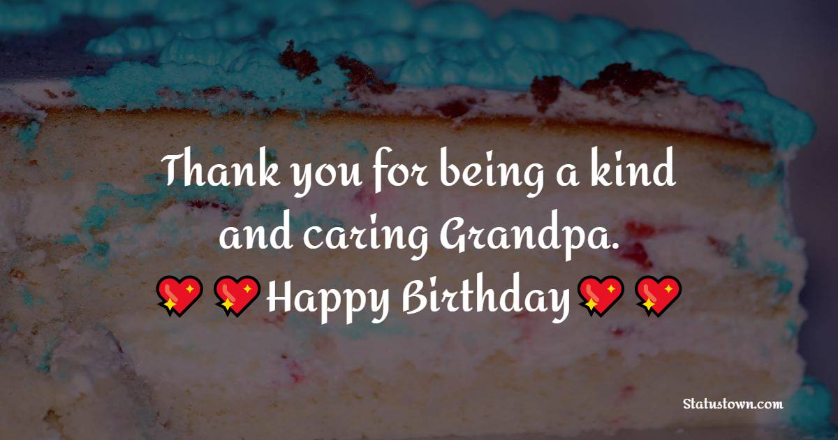 Sweet Birthday Wishes for Grandfather