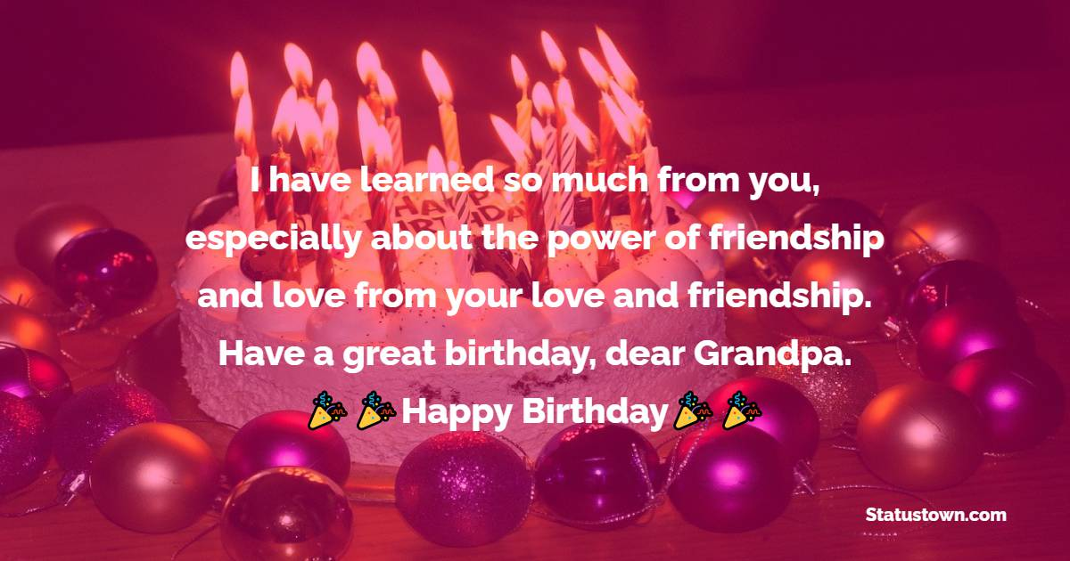 Best Birthday Wishes for Grandfather