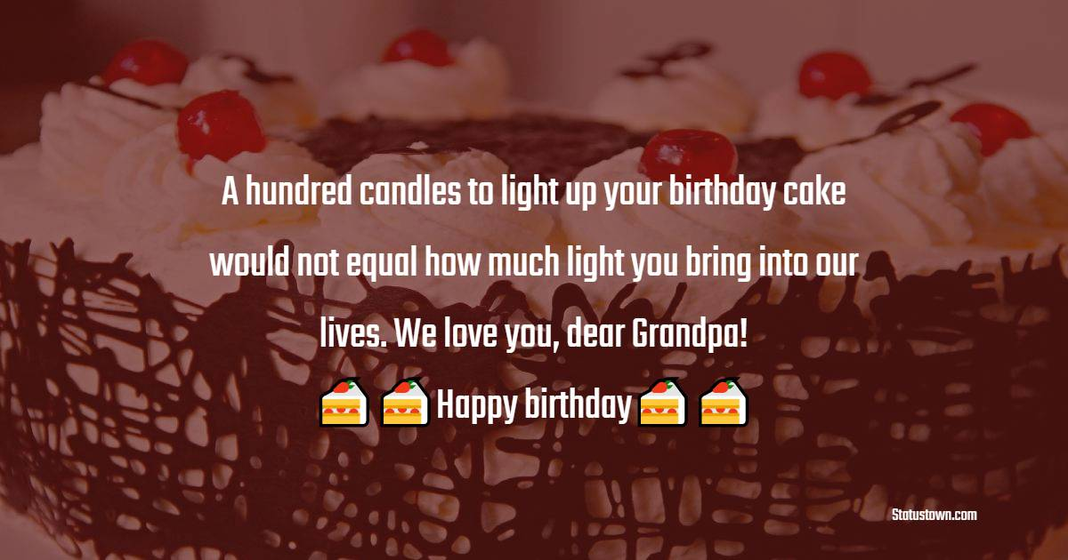 Simple Birthday Wishes for Grandfather